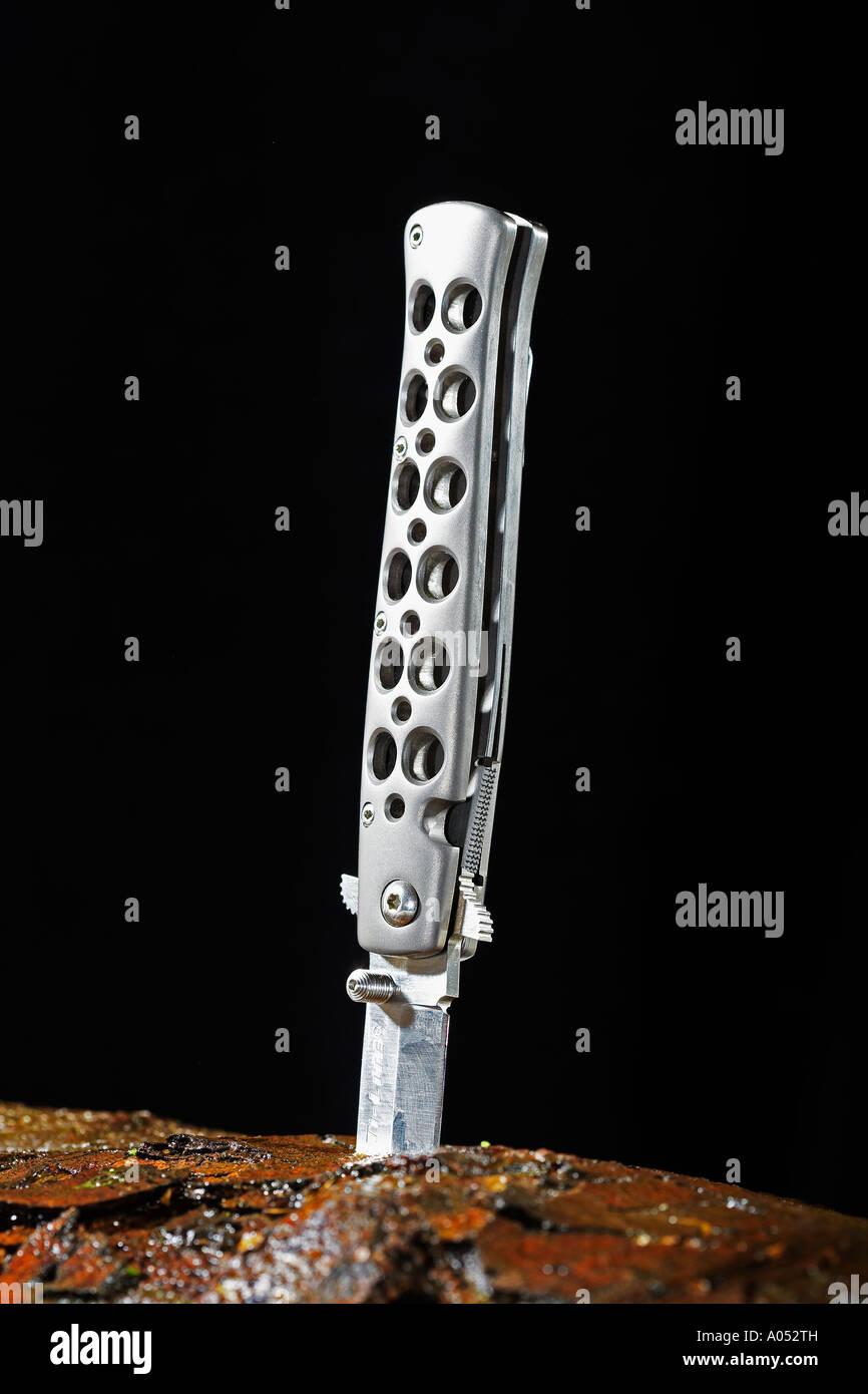 Lock Knife Stock Photo