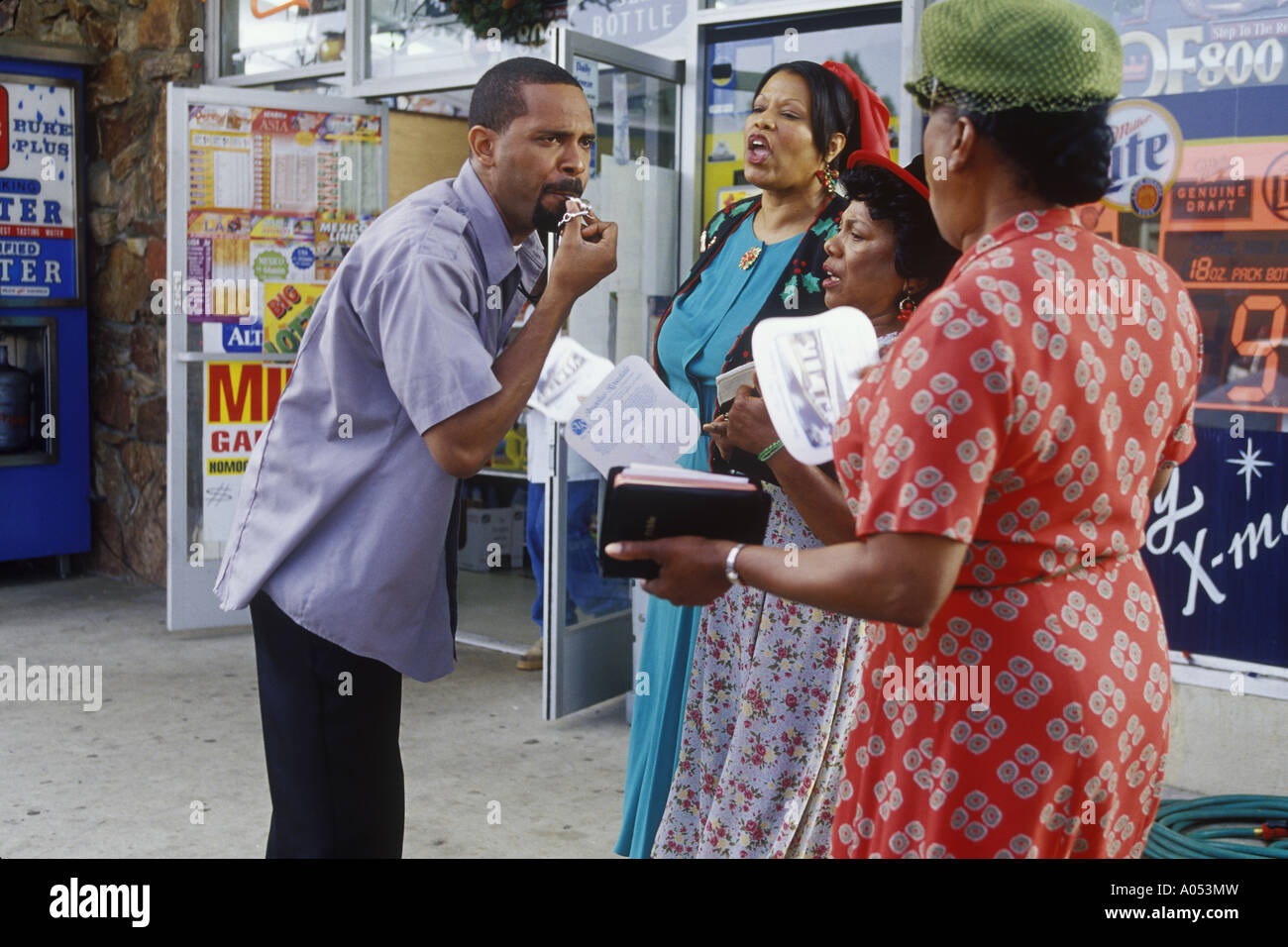 FRIDAY AFTER NEXT 2002 New Line film with Mike Epps - Stock Image