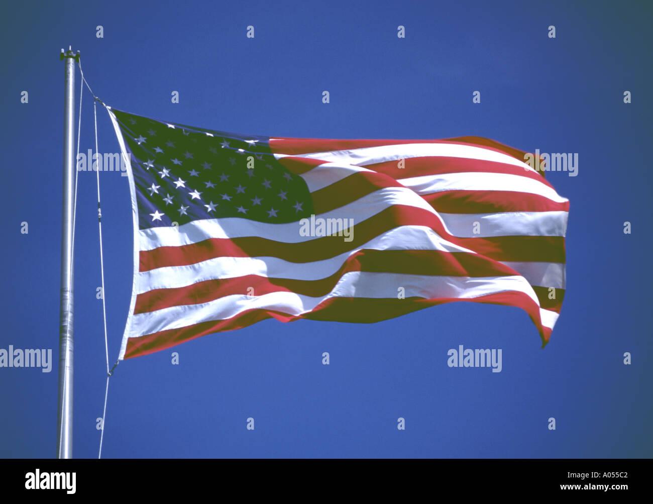 American Flag Symbol Nation Emblem Insignia Identity National Pride