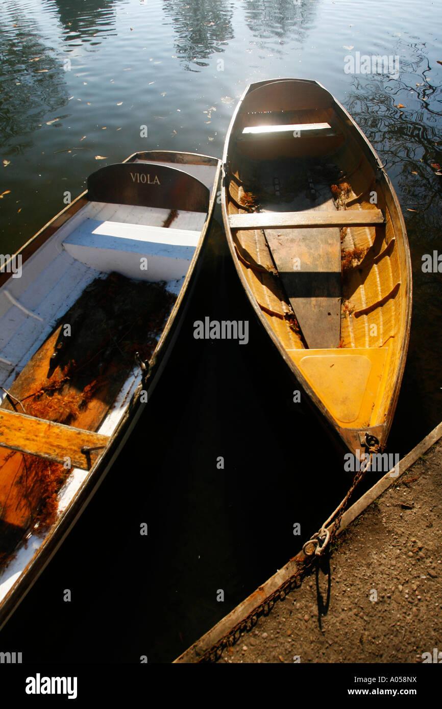 River Avon in Stratford upon Avon Warwickshire England UK - Stock Image