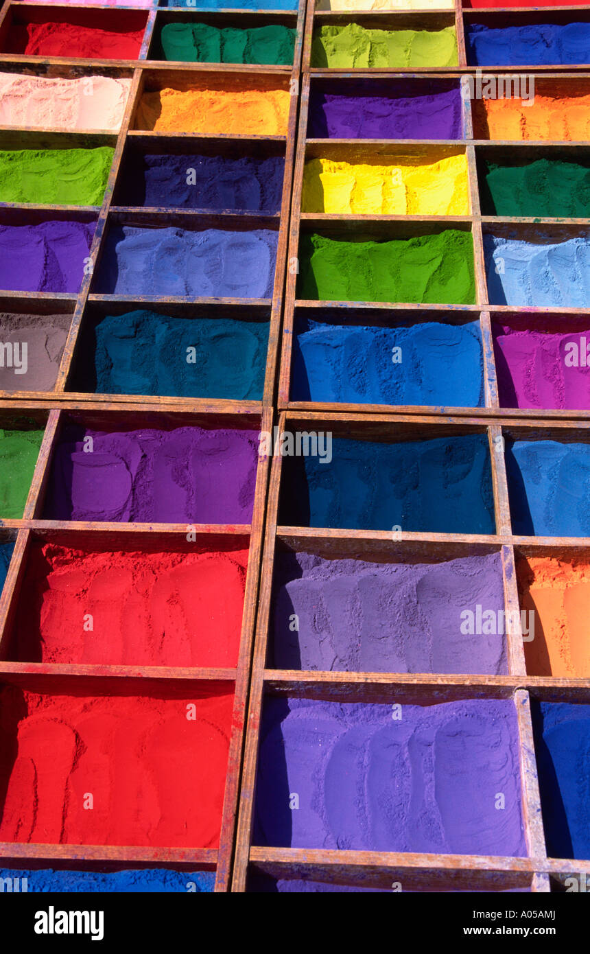 Kathmandu, Dyes - Stock Image