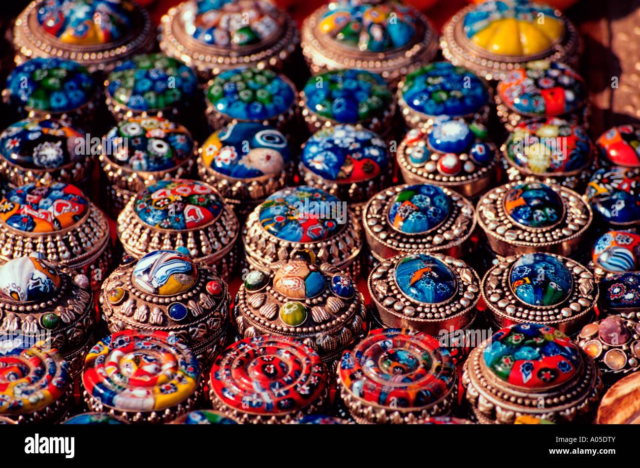 Kathmandu, Handicrafts - Stock Image
