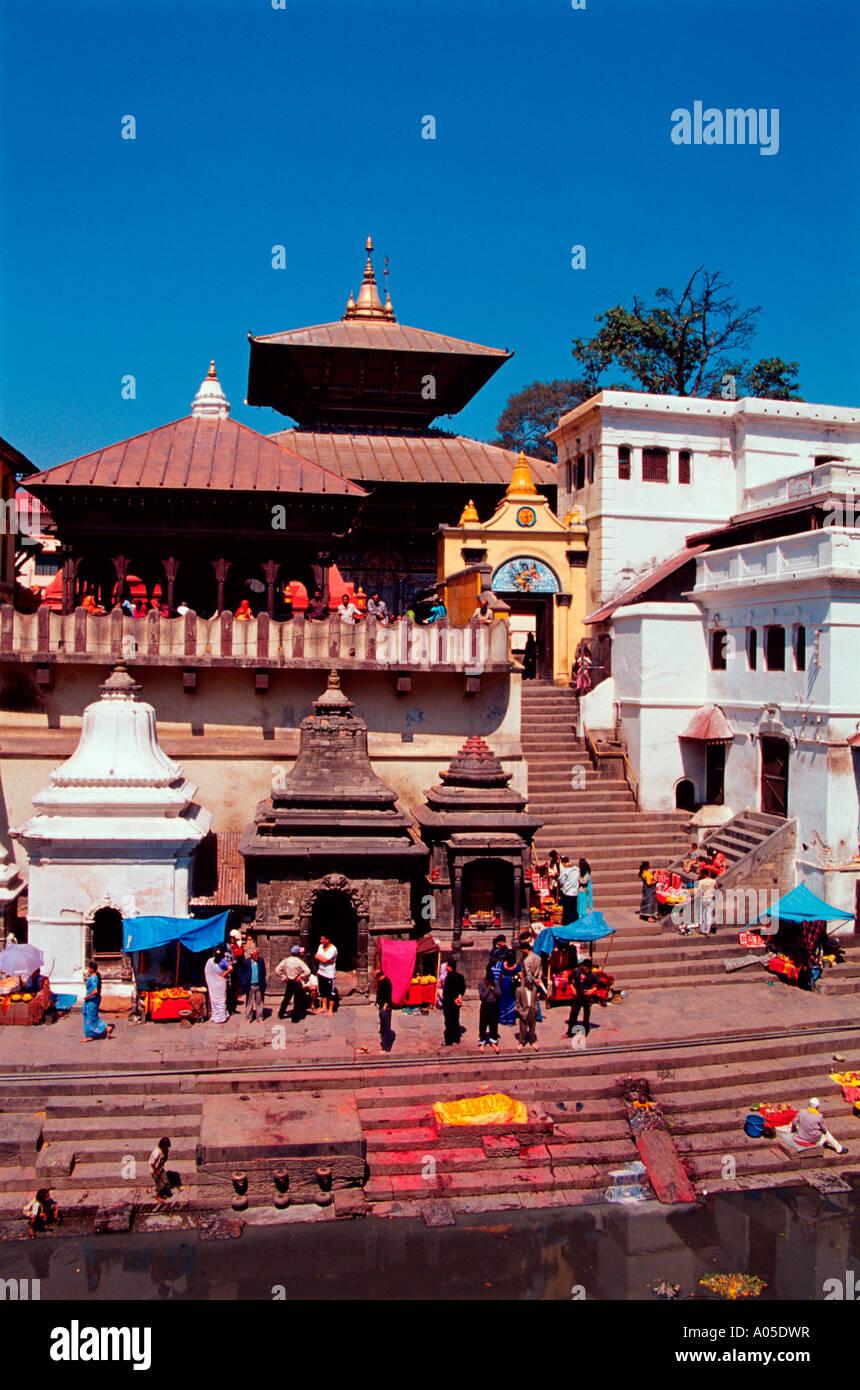 Pashupatinath Temple - Stock Image