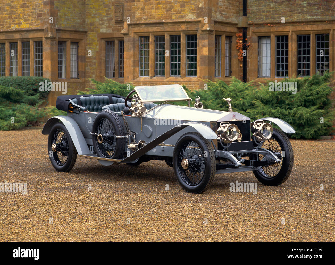 1911 Rolls Royce 40 50 HP Silver Ghost London Edinburgh type The Sluggard 7.4 litre 6 cylinder engine producing 48bhp - Stock Image