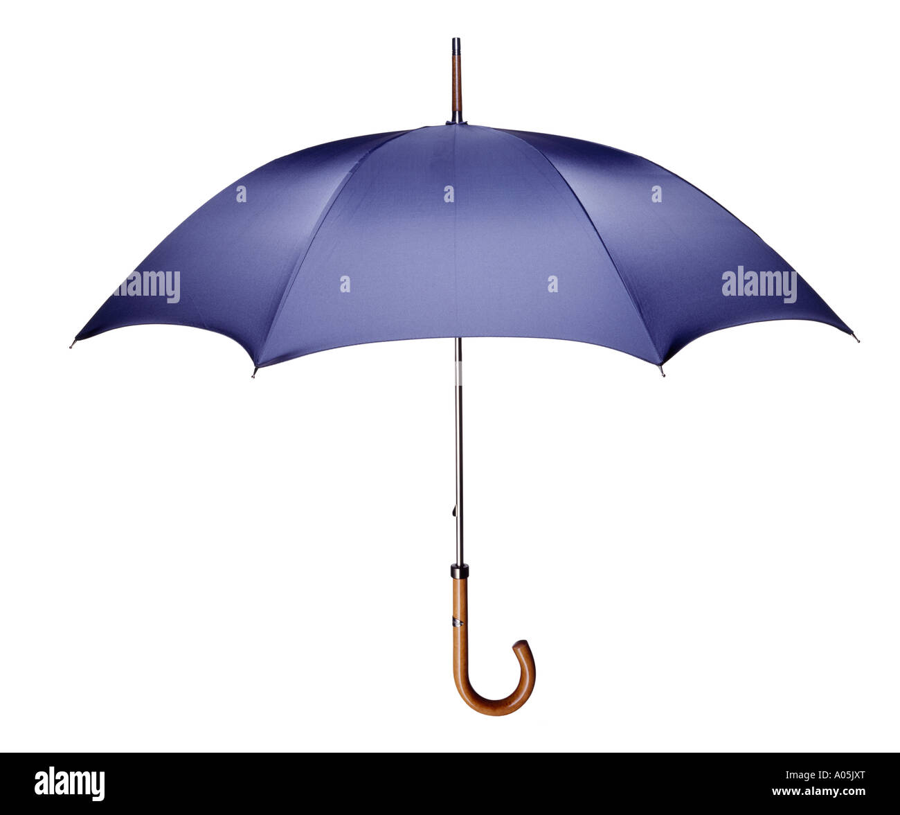 A cut out shot of a good quality umbrella, - Stock Image