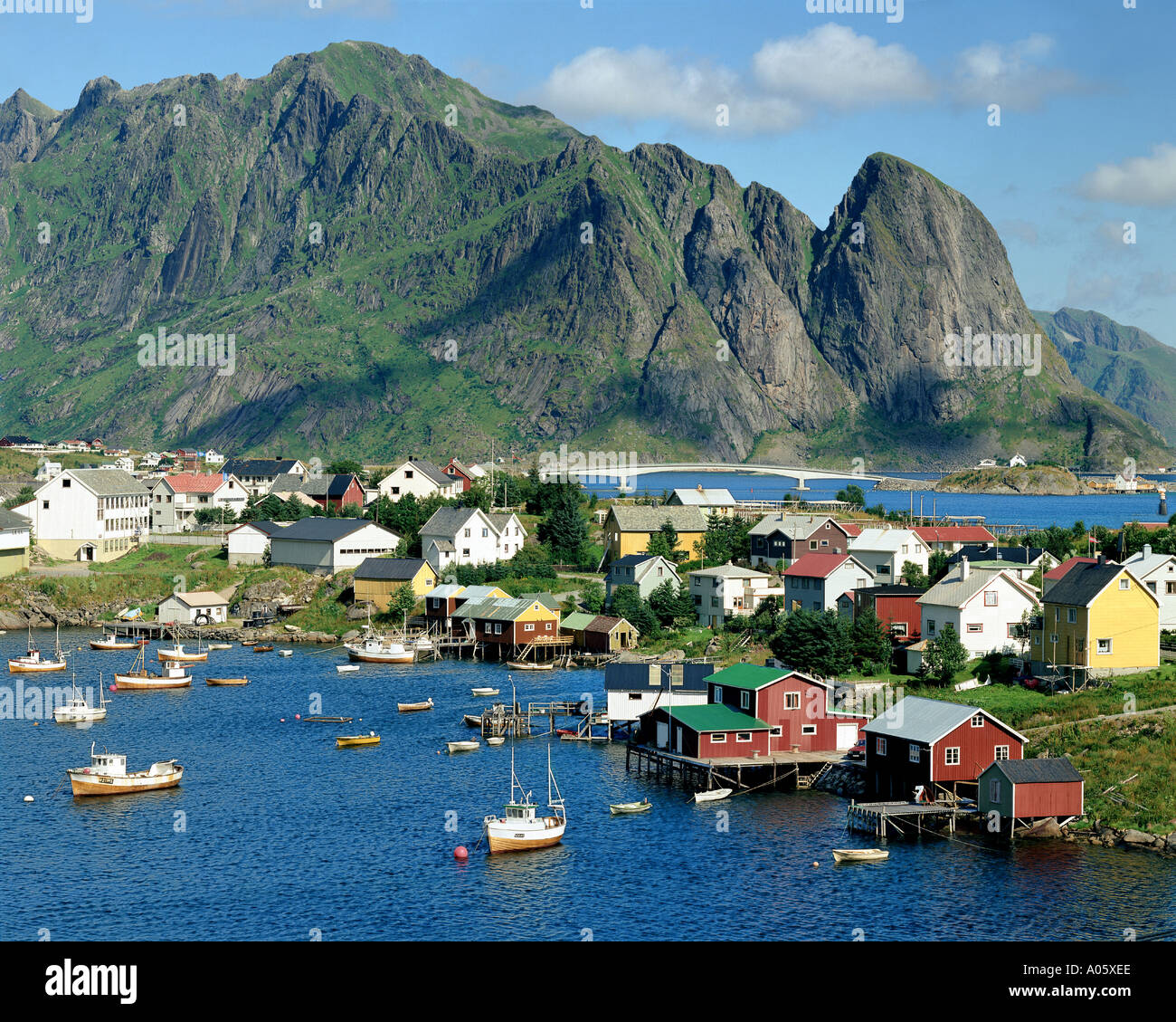 NO - LOFOTEN ISLANDS: Reine - Stock Image