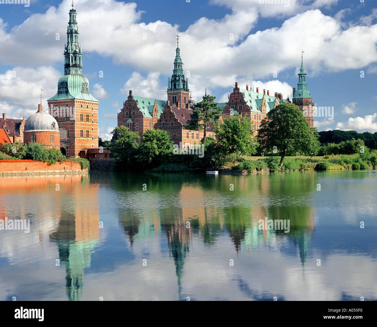 DK - ZEALAND: Frederiksborg Castle at Hillerod - Stock Image