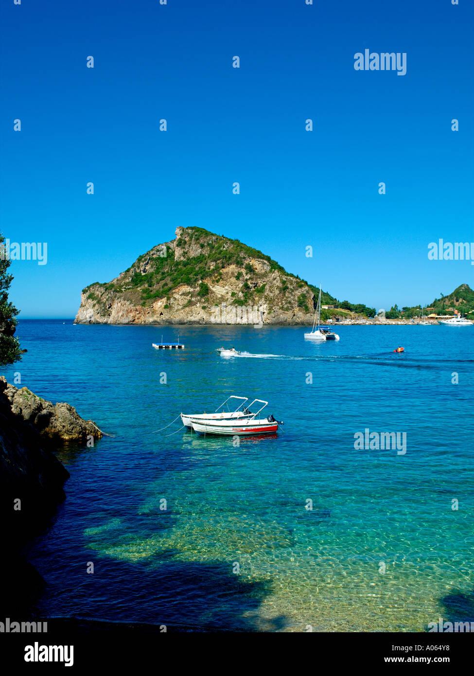 Corfu Island, Paleokastritsa - Stock Image