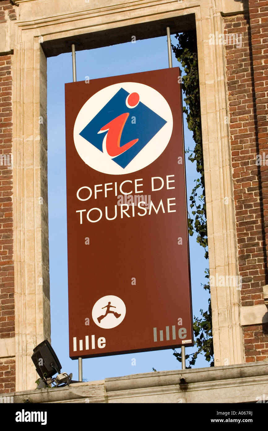 Tourist Office Lille France Stock Photo 9893573 Alamy