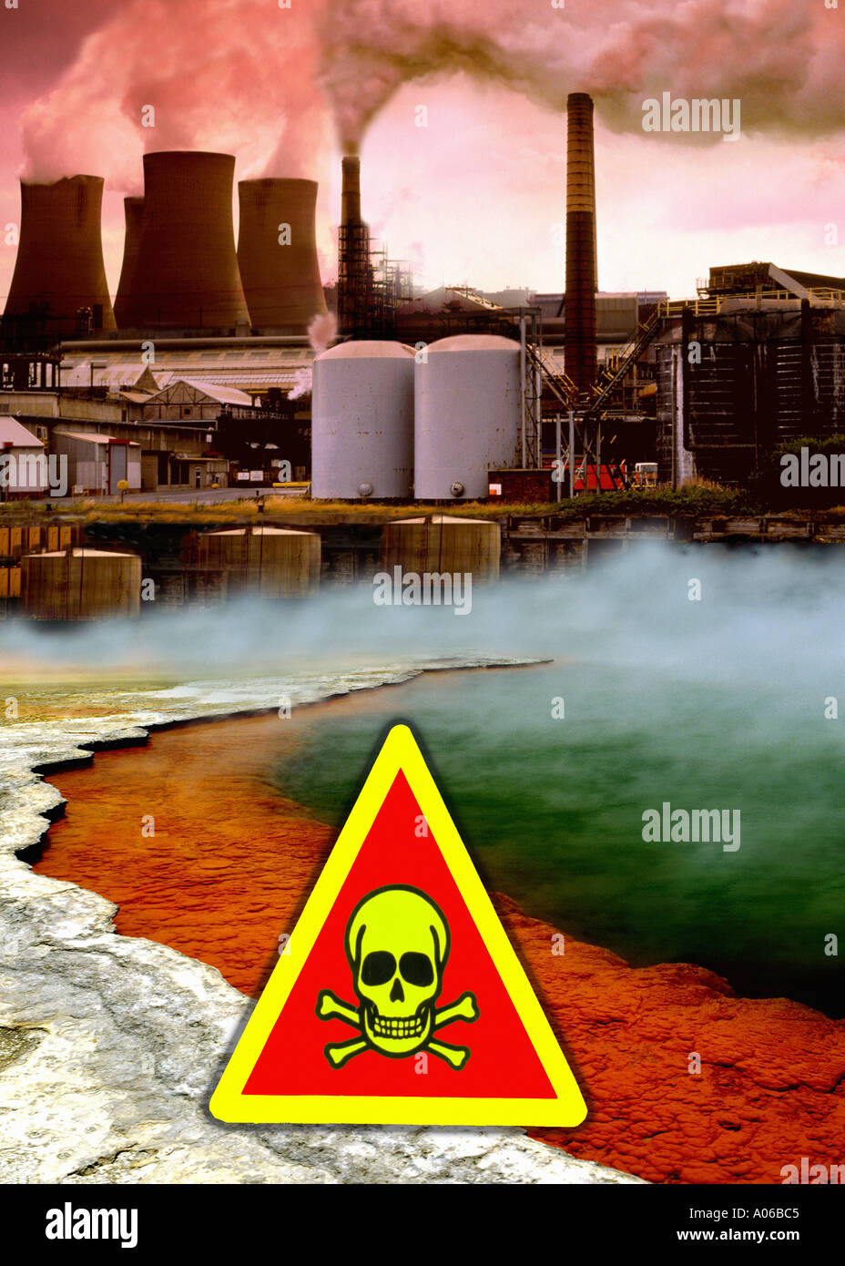 Image result for images of pollution and toxic waste