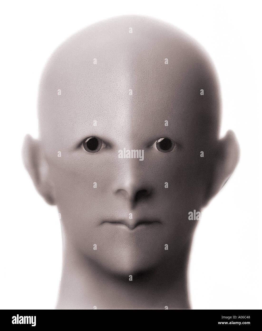 Alien Being - Stock Image