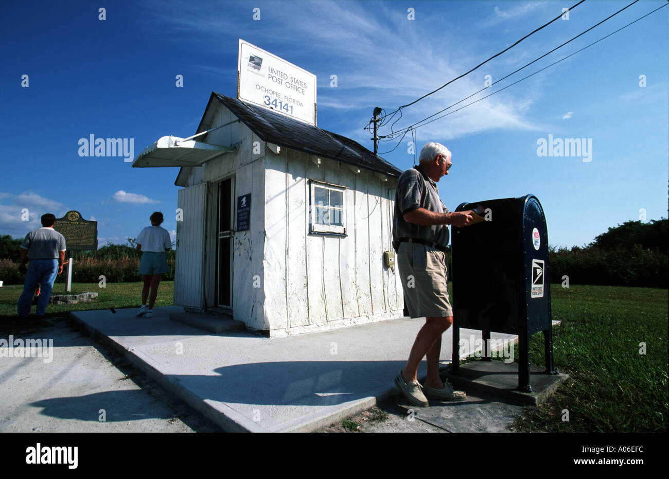 Mailing A Letter From The United States Smallest Post Office In