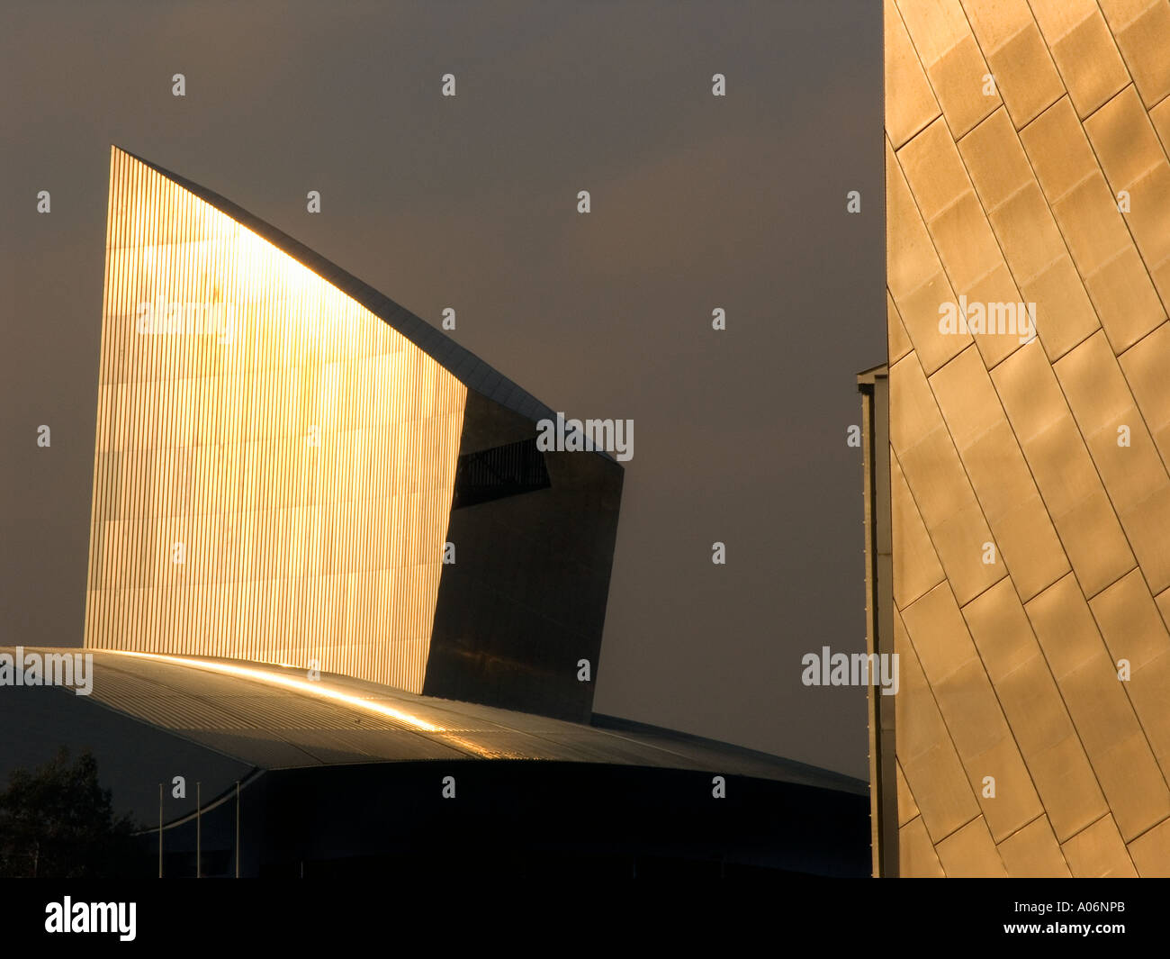 Imperial War Museum Manchester - Stock Image