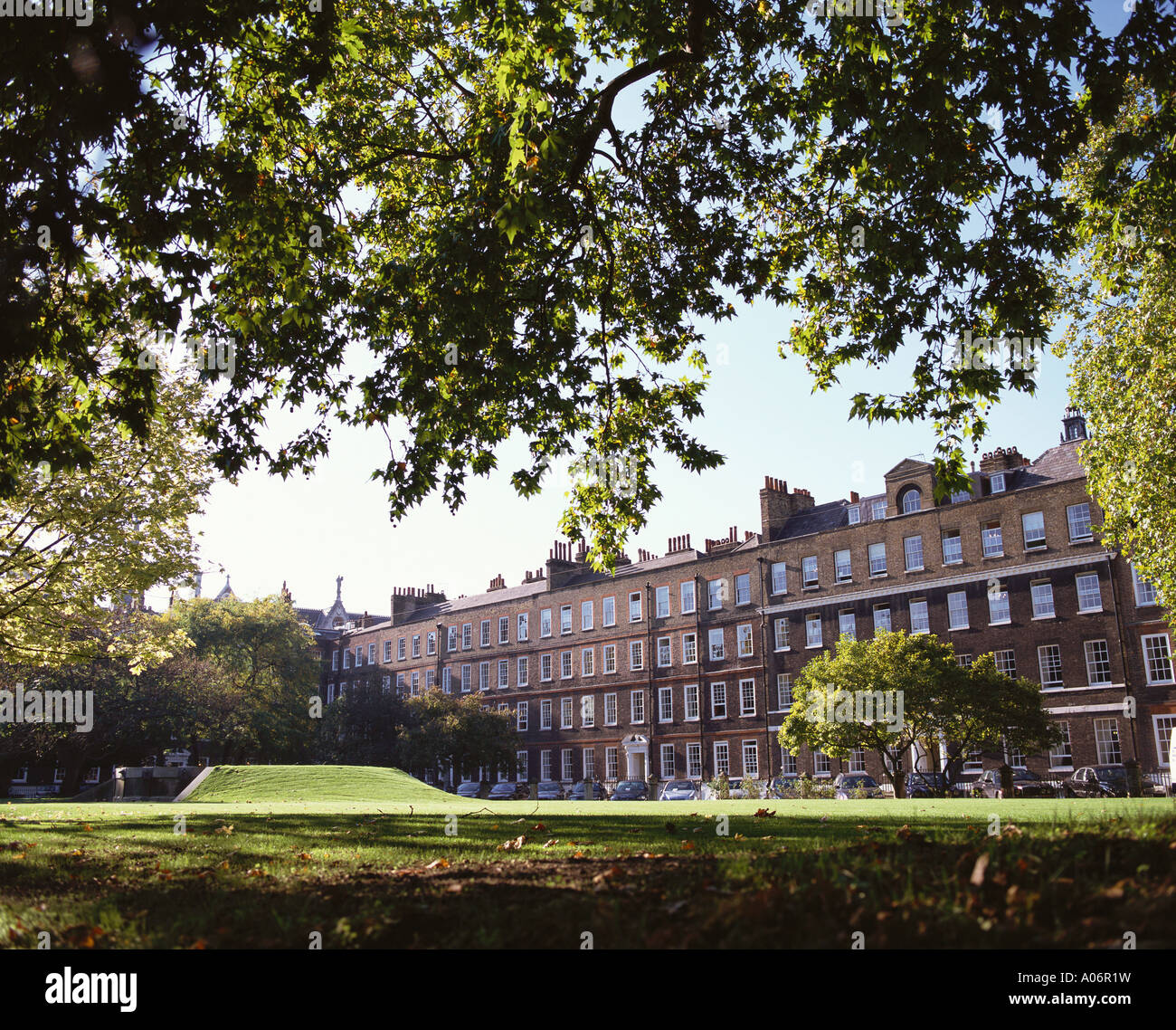Barristers Offices Lincolns Inn Fields London - Stock Image