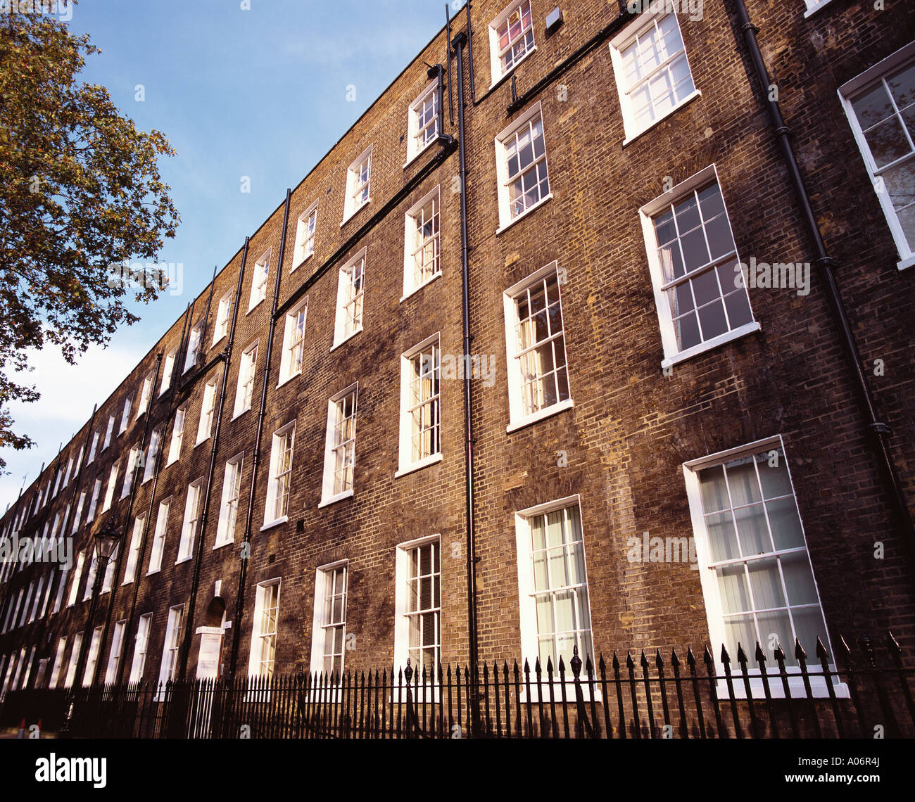Barrister's Offices at Grays Inn Fields London - Stock Image