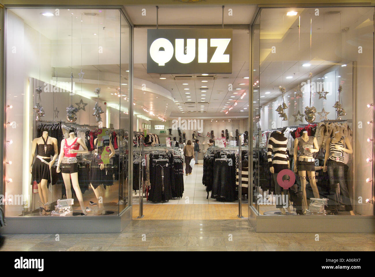 c7de1a3331a Quiz shop store Trafford centre UK United Kingdom England Europe GB Great  Britain EU European Union