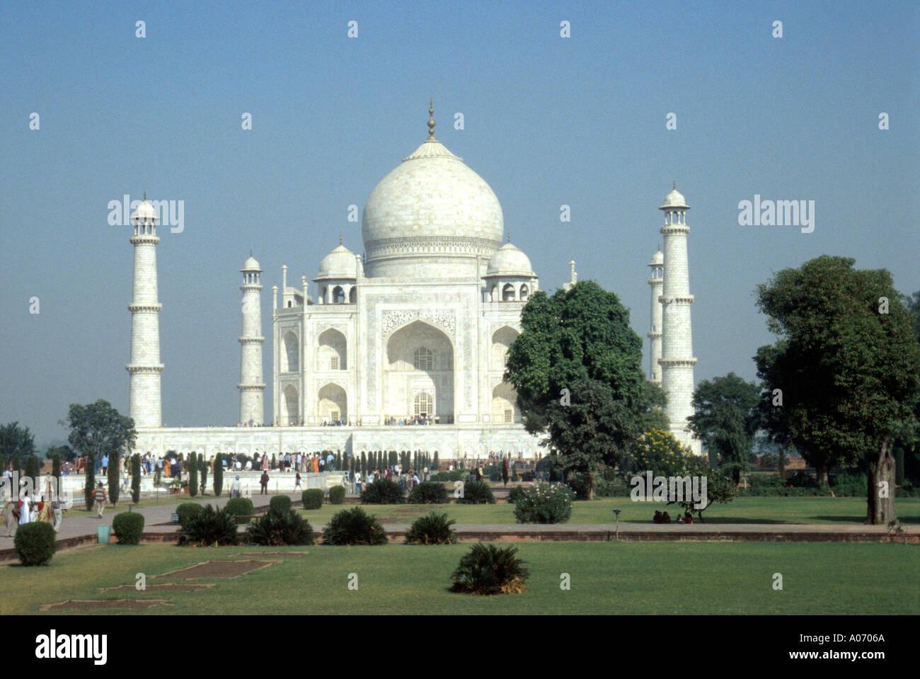 Taj Mahal, Agra, Rajasthan, India Stock Photo