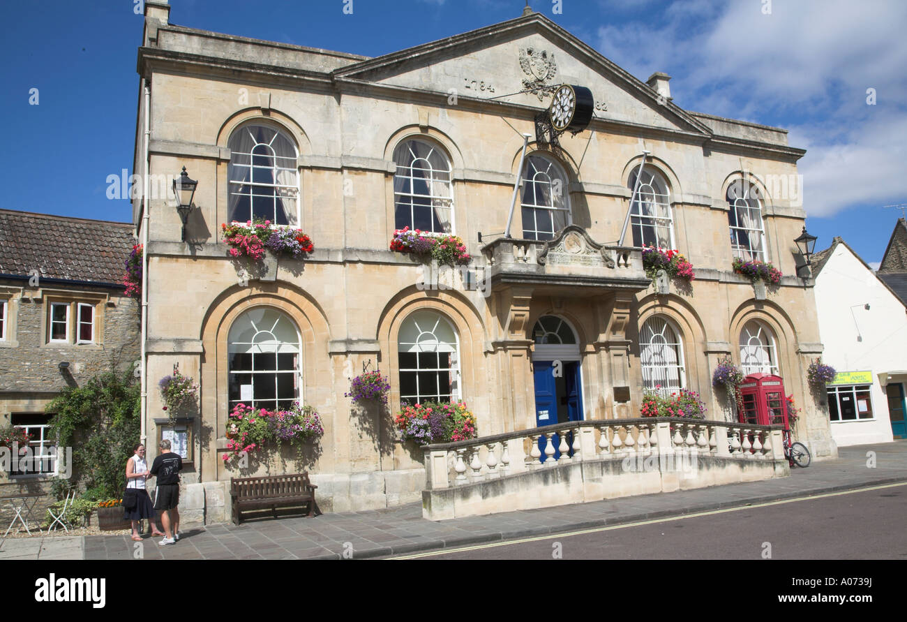 Corsham town hall Wiltshire England Stock Photo