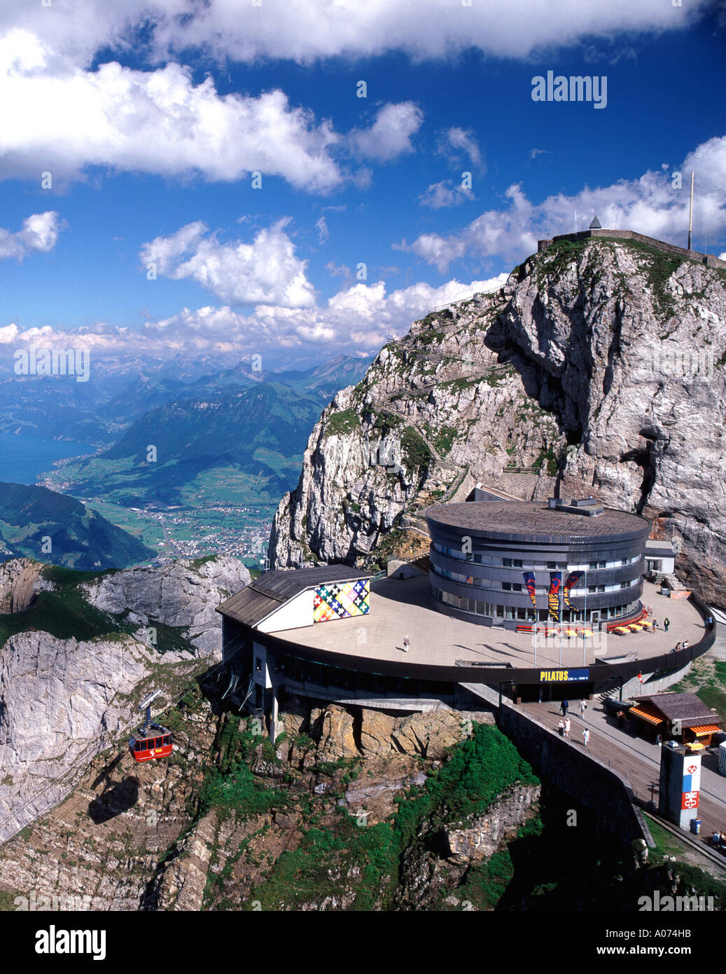 Mount Pilatus, Lucerne, Switzerland - Stock Image