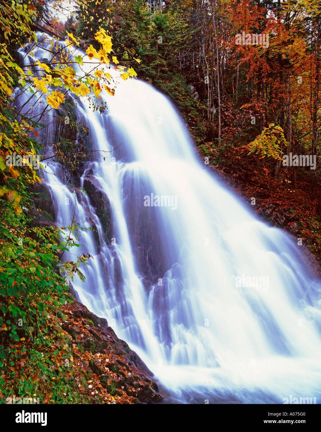 Giessbach Falls, Bernese Oberland, Switzerland Stock Photo