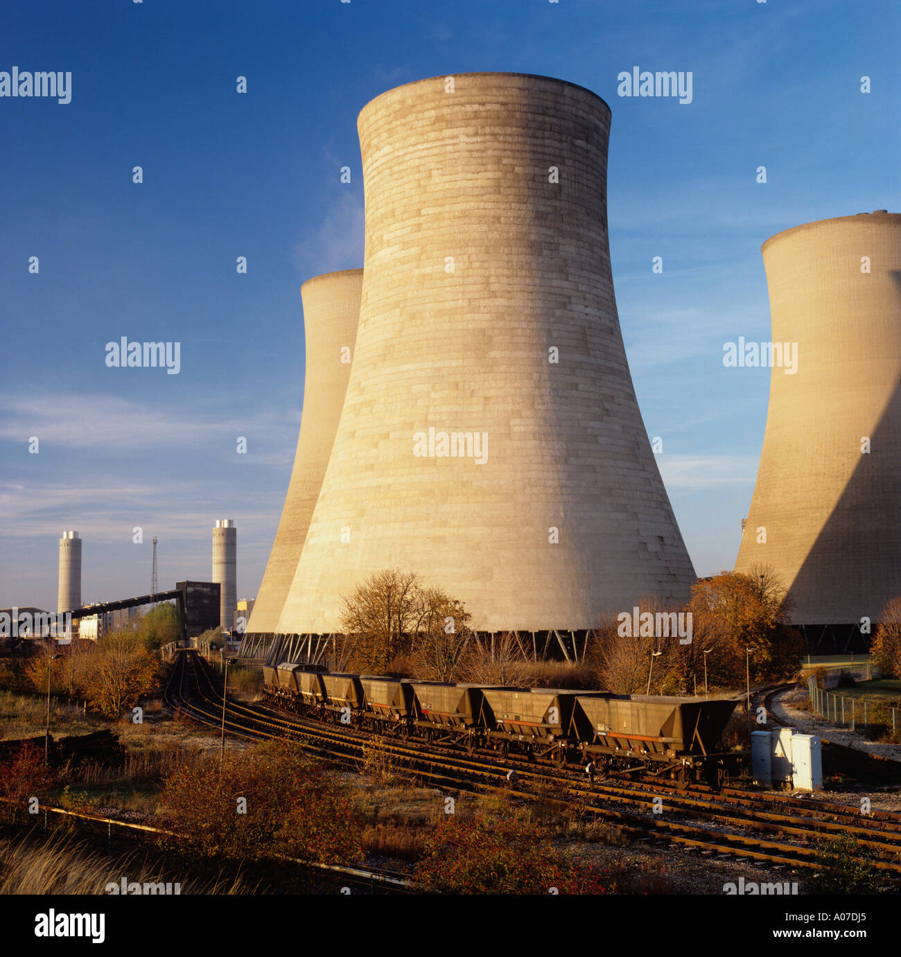 Environment Energy generation Didcot Power Station Stock Photo