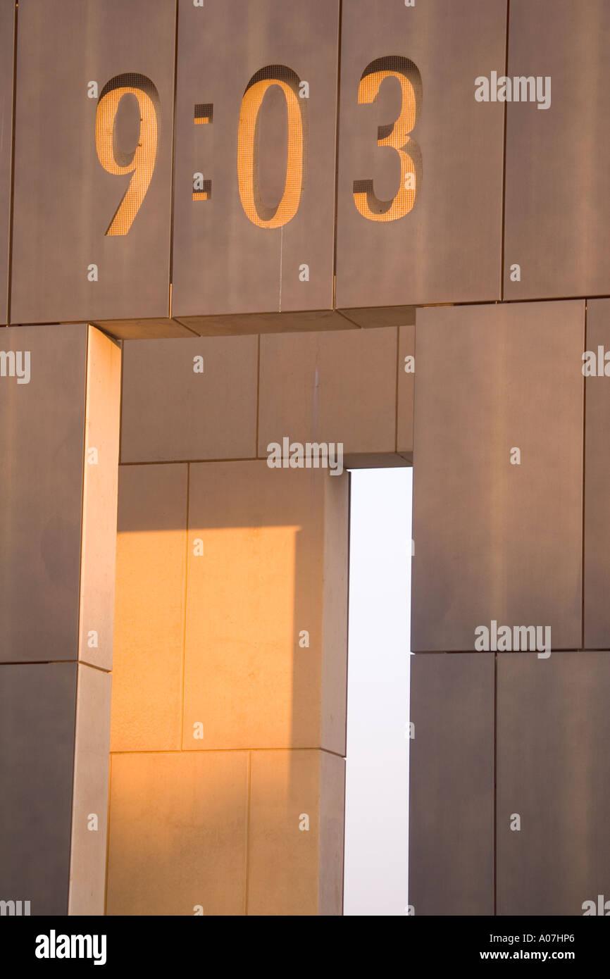Gate of Oklahoma City Bombing Memorial Stock Photo