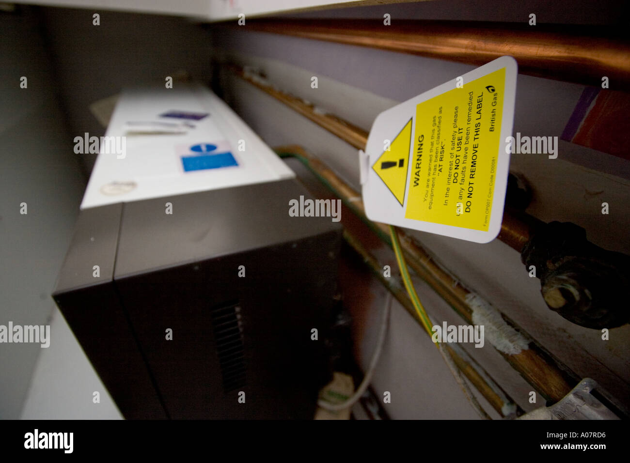 British Gas And Boiler High Resolution Stock Photography And Images Alamy