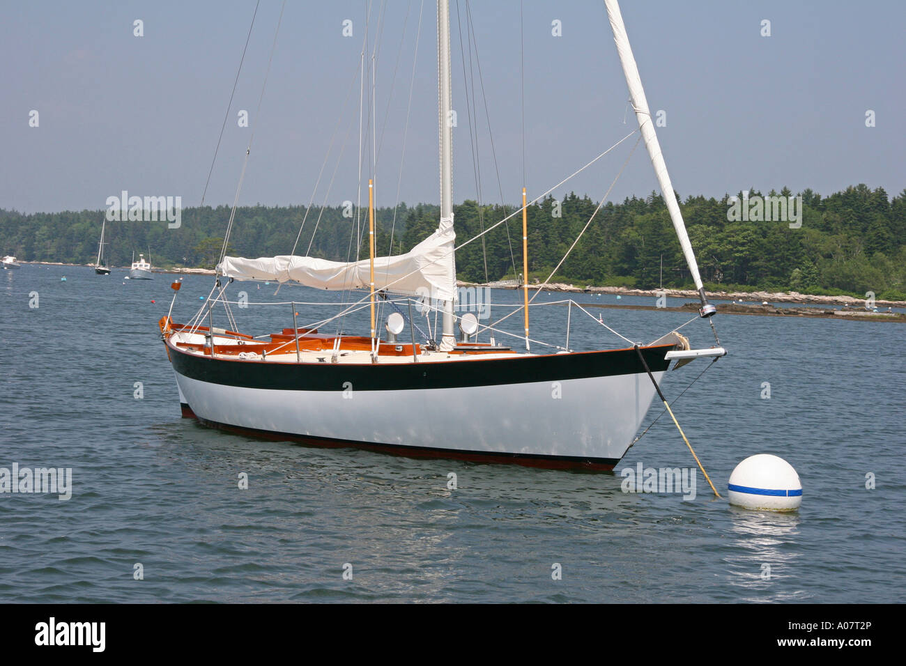 Double-Ended Sloop - Stock Image
