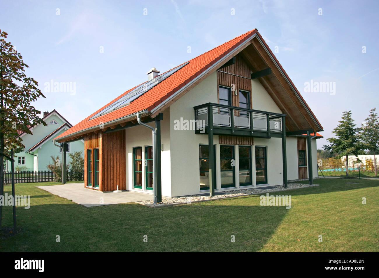 Architektur Einfamilienhaus Family Home Stock Photo 9914600 Alamy