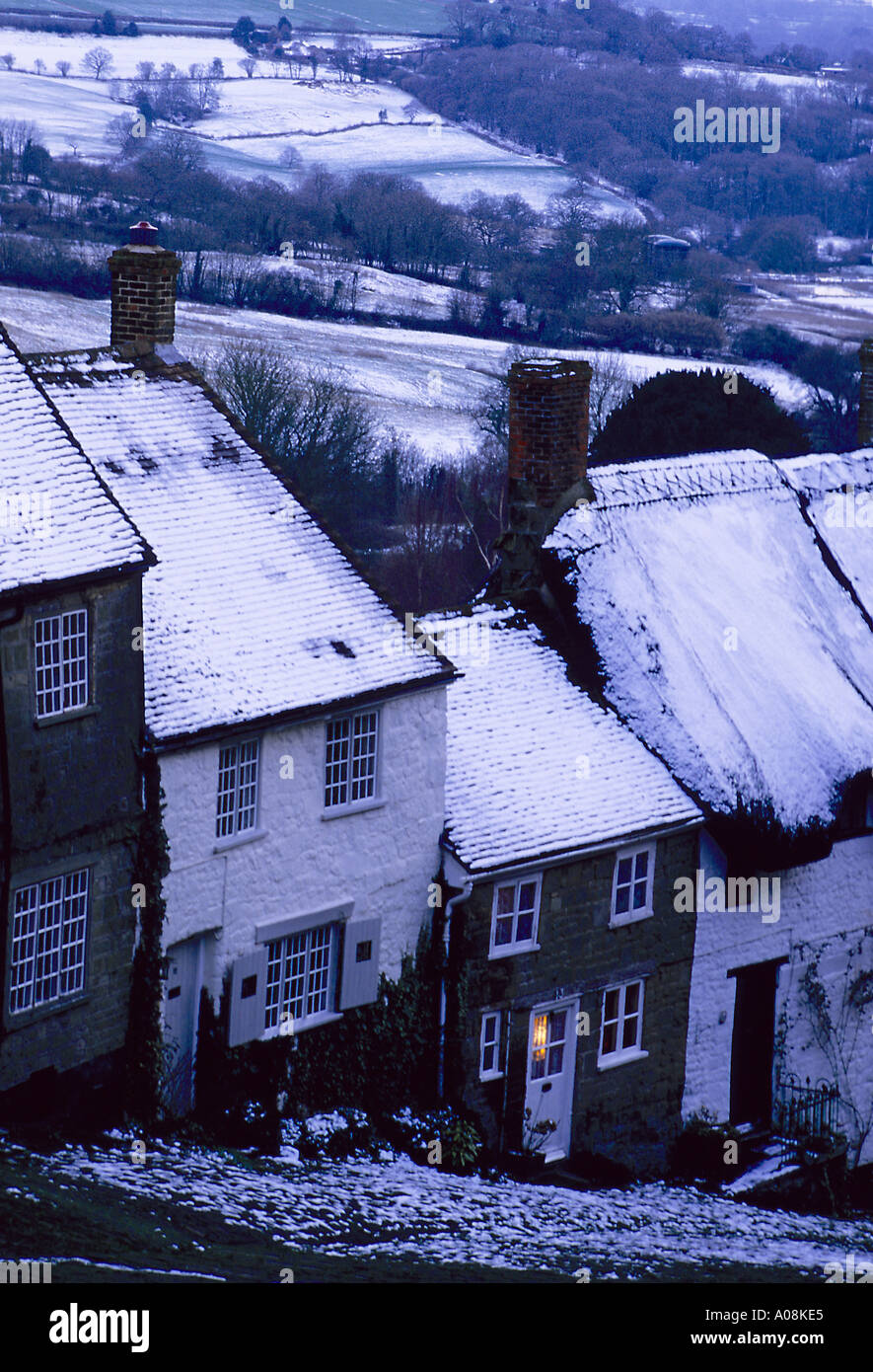 A welcoming home in Shaftesbury - Stock Image