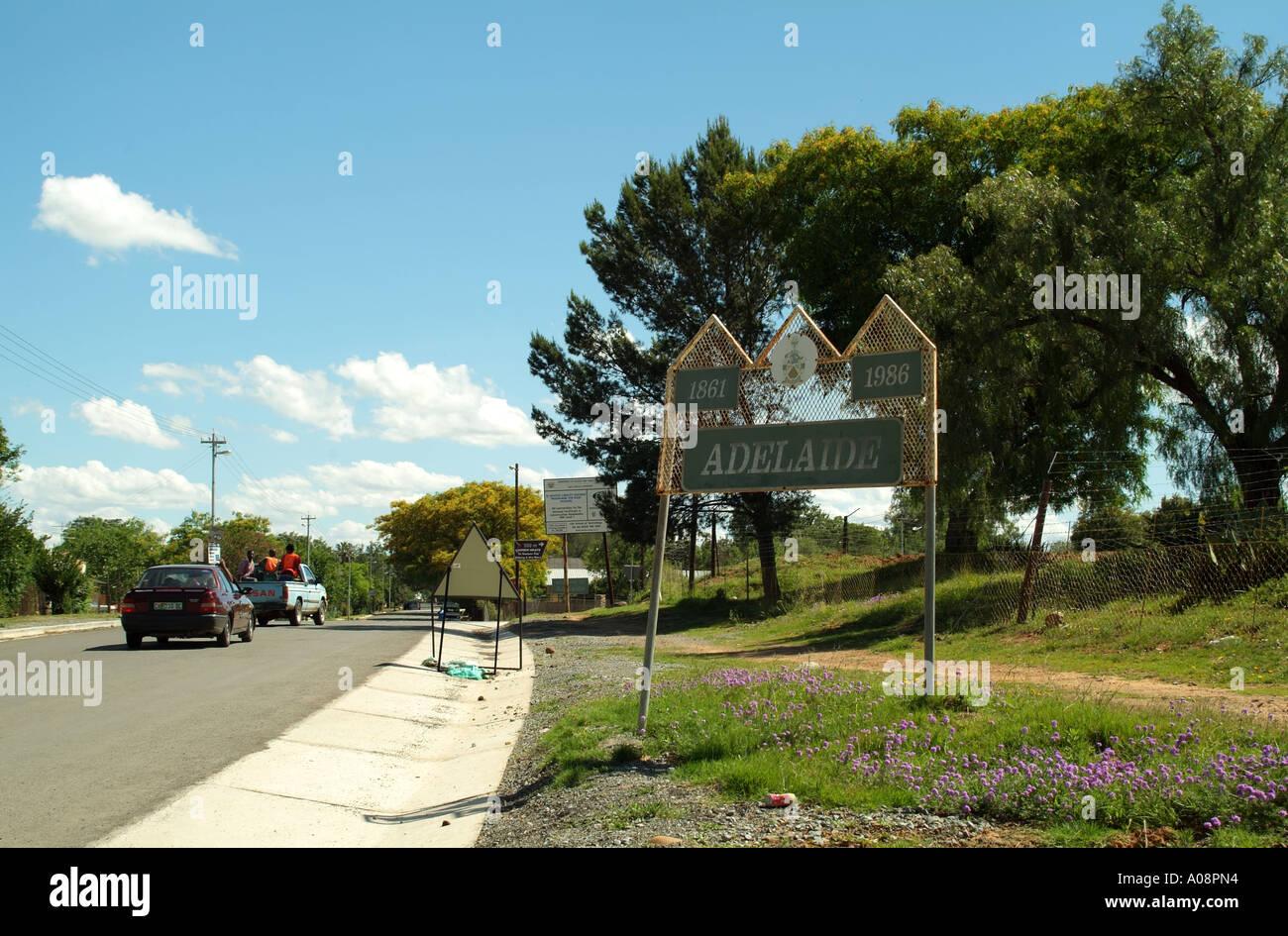 Rural town of Adelaide Eastern...