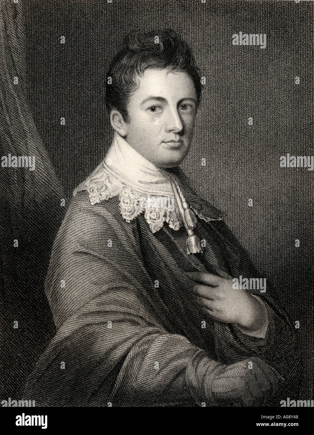 James Wandesford Butler, 1st Marquess of Ormonde,1777 - 1838.  Irish nobleman and politician. - Stock Image