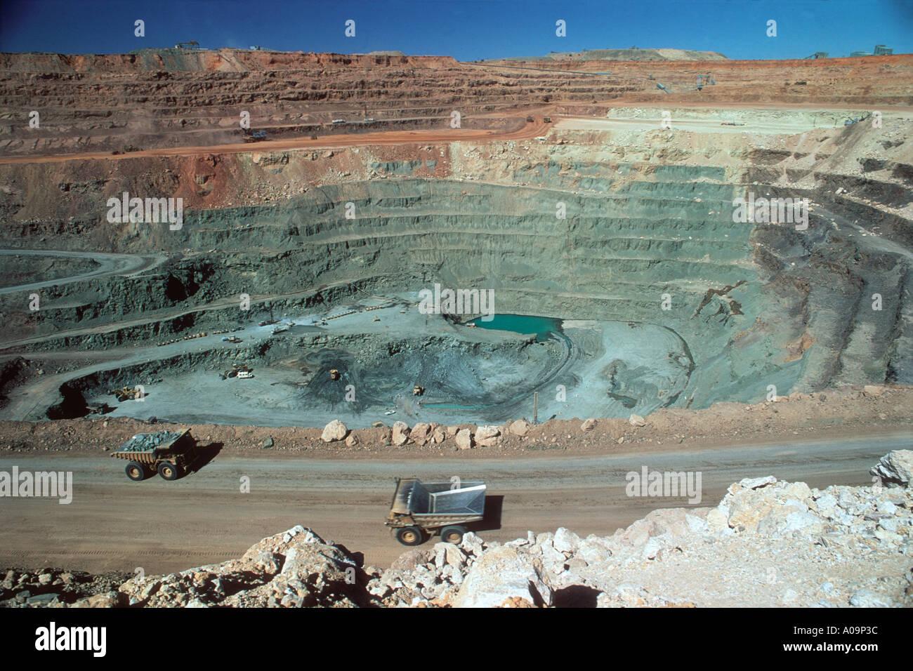 diamond mining Stock Photo