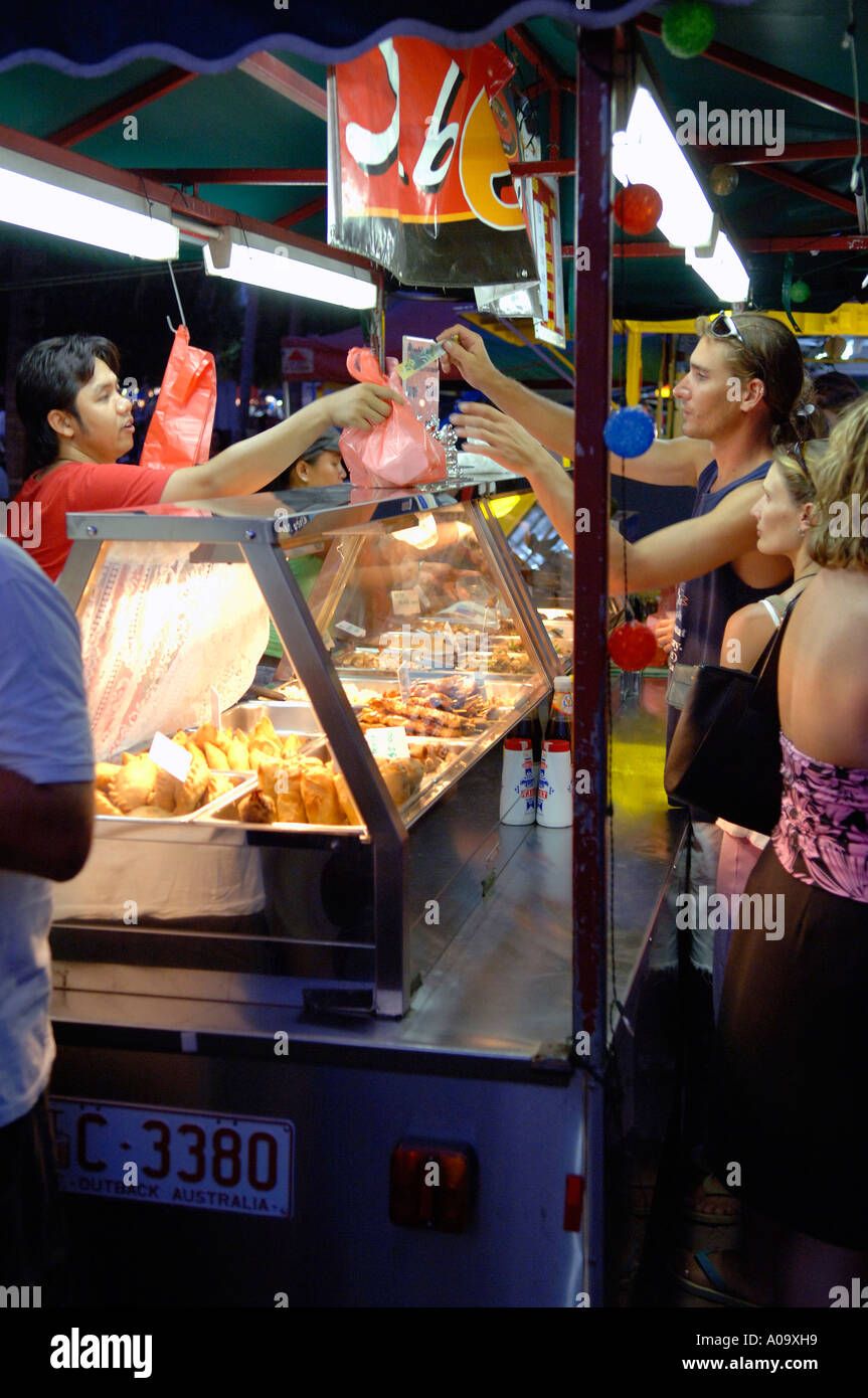 Selling Asian Food Chinese Lantern Festival Auckland New Zealand Stock Photo Alamy