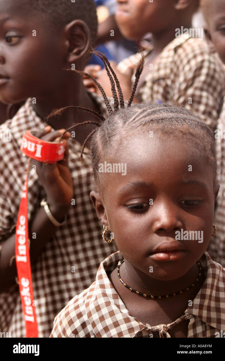 african children's hairstyles stock photo, royalty free image