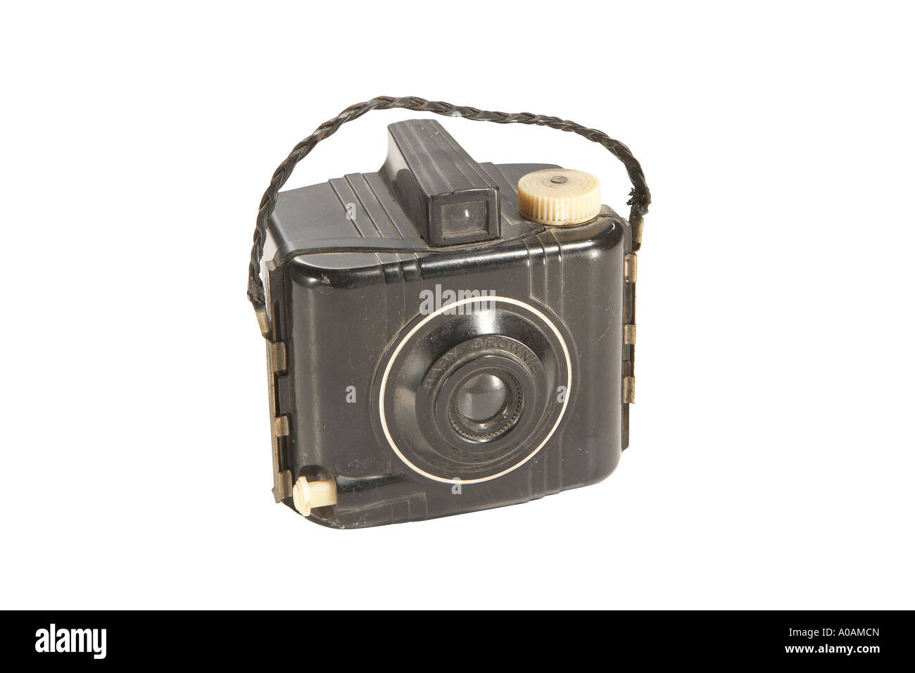 Pocket Brownie camera with clipping path - Stock Image