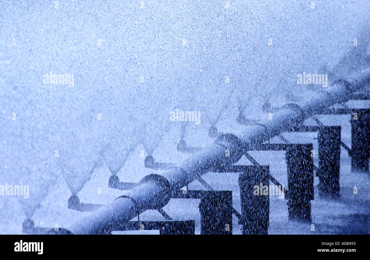 water treatment - Stock Image