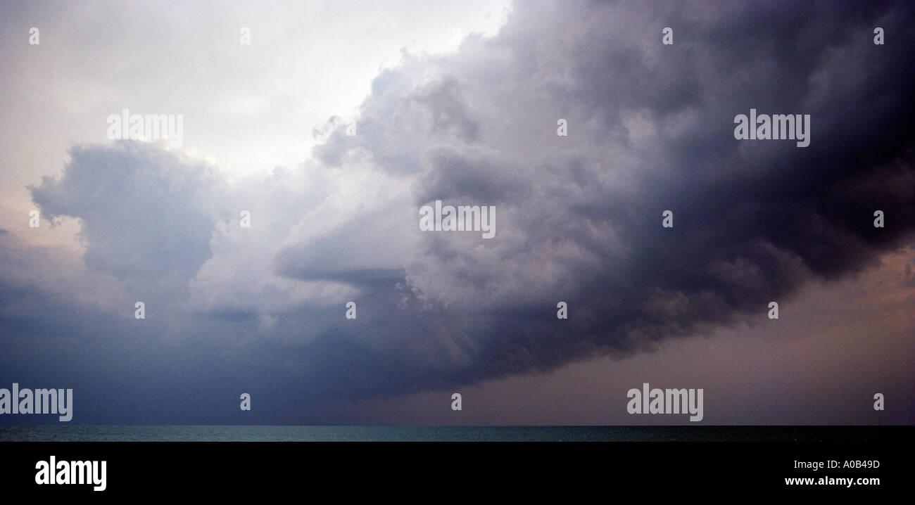 storm cloud - Stock Image