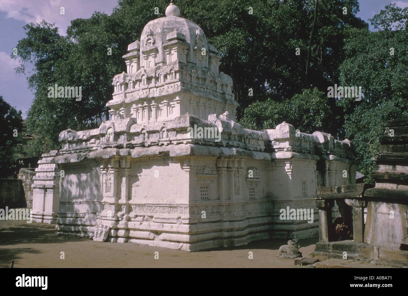 Mahakut mahakutesvara Temple c635 AD View from SW - Stock Image