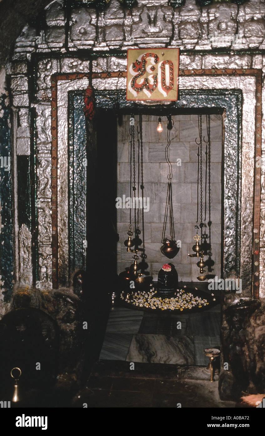 Mahakut mahakutesvara temple c635 AD Shrine doorway - Stock Image