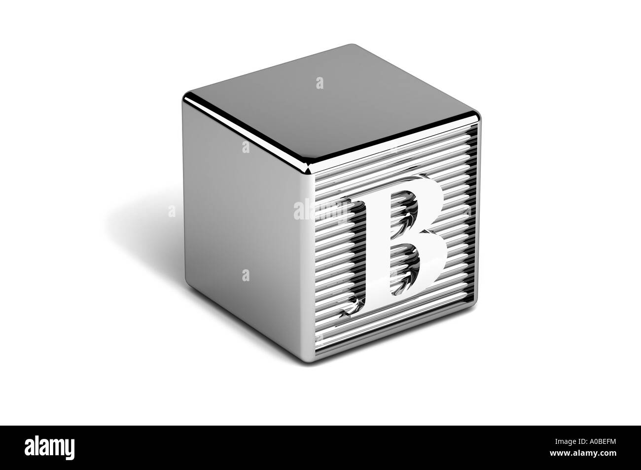 Letter B Alphabet block Stock Photo: 9942871 - Alamy