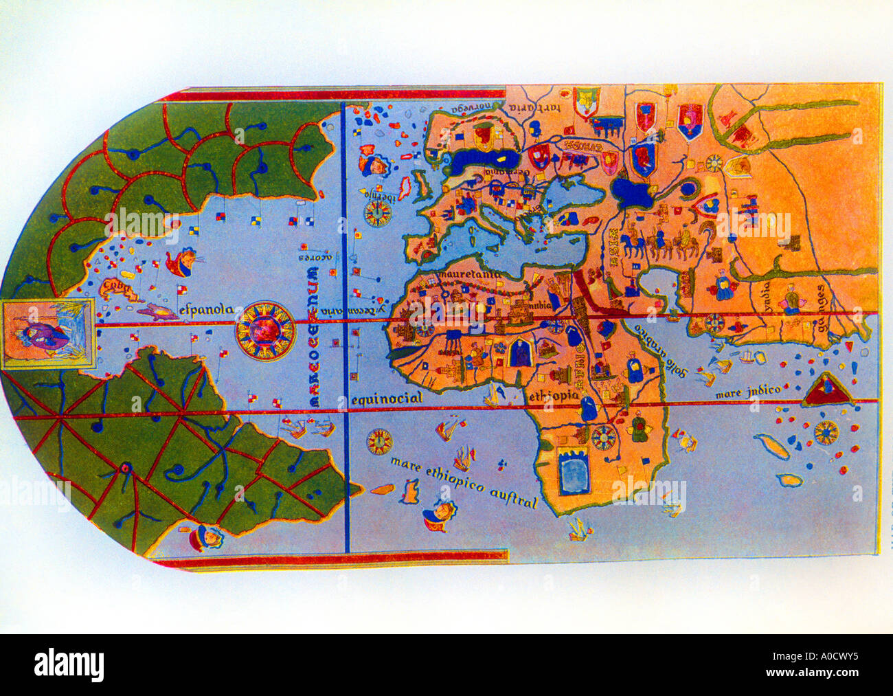 Map Of World 1500 Stock Photos Map Of World 1500 Stock Images Alamy