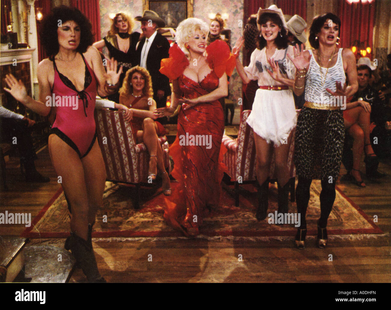 Whorehouse Texas Universal Film Dolly Parton Paper Doll Bar