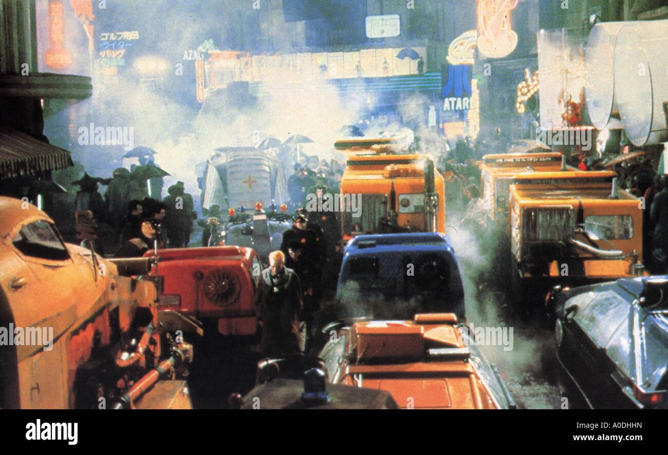 BLADE RUNNER 1982 Warner film with Harrison Ford - Stock Image