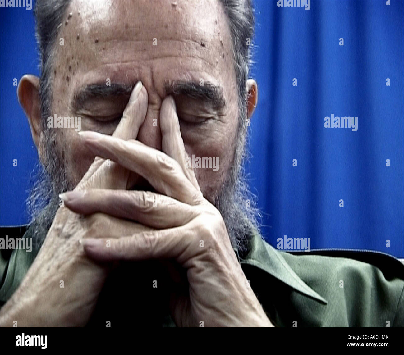 COMANDANTE 2003 HBO film by Oliver Stone - Stock Image