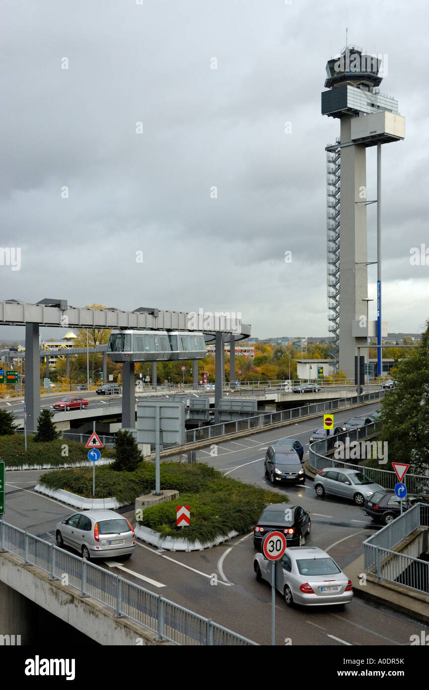 dusseldorf airport control tower stock photos dusseldorf. Black Bedroom Furniture Sets. Home Design Ideas