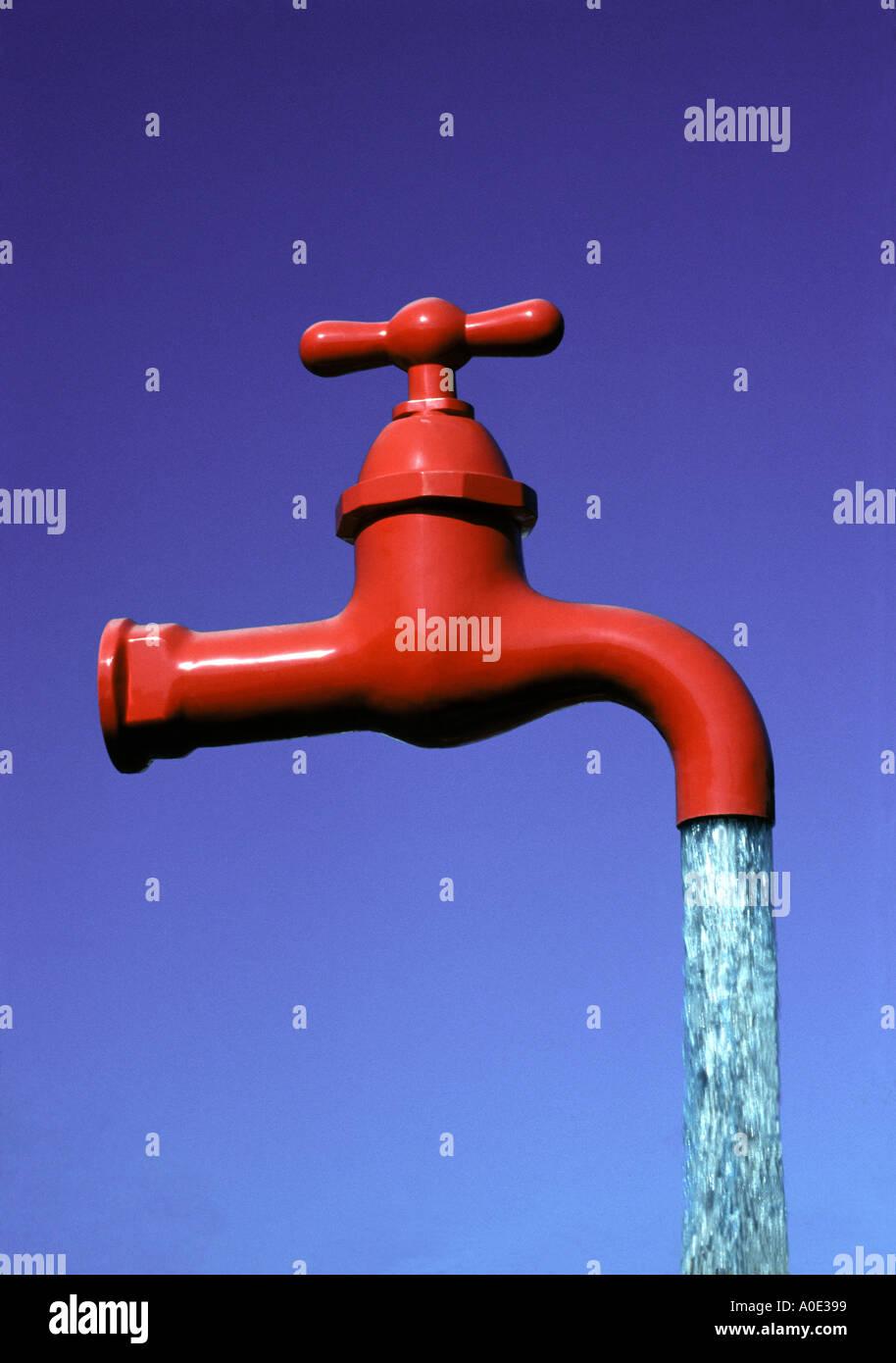 water tap Faucet - Stock Image