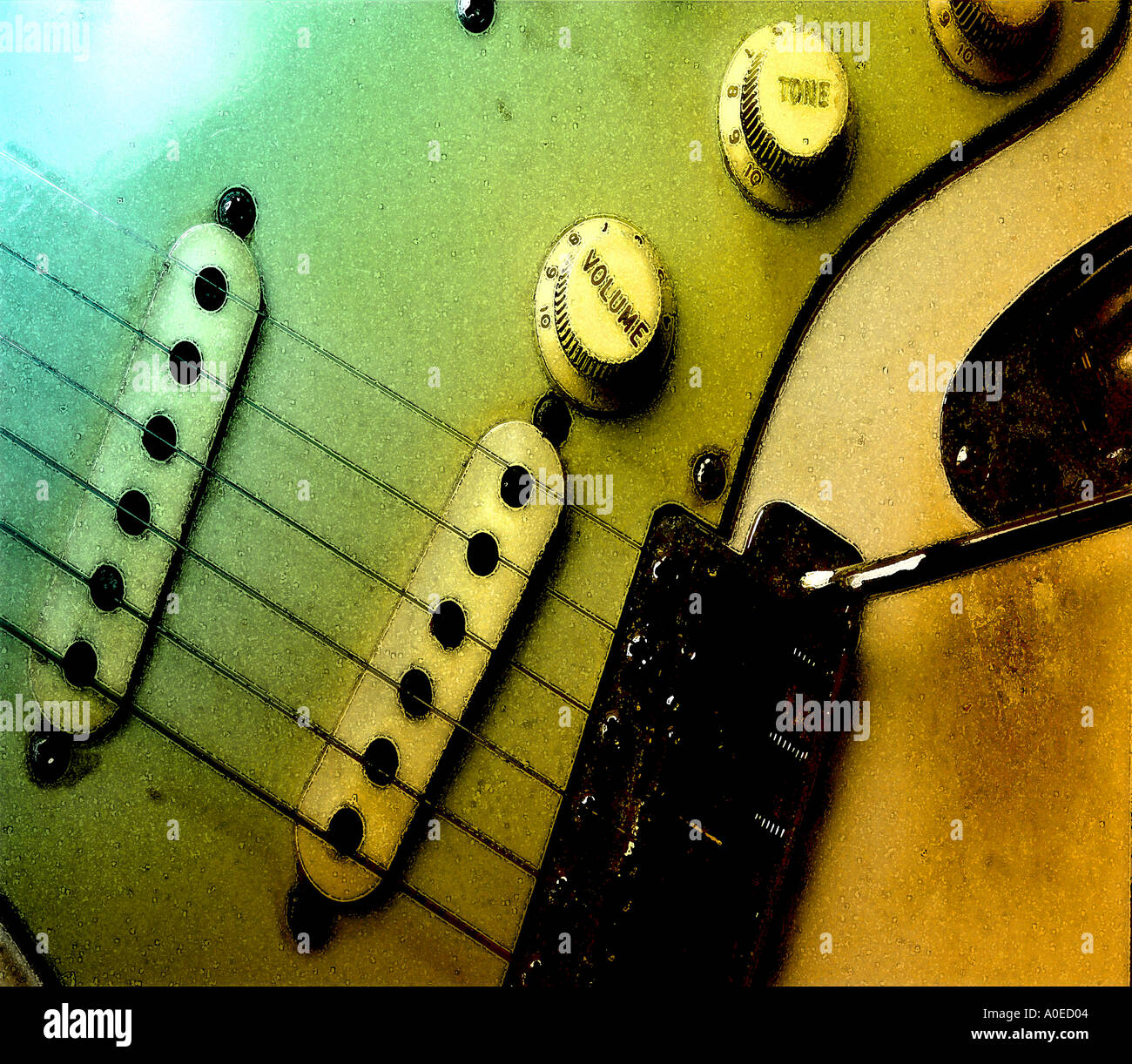 Stratocaster - Stock Image