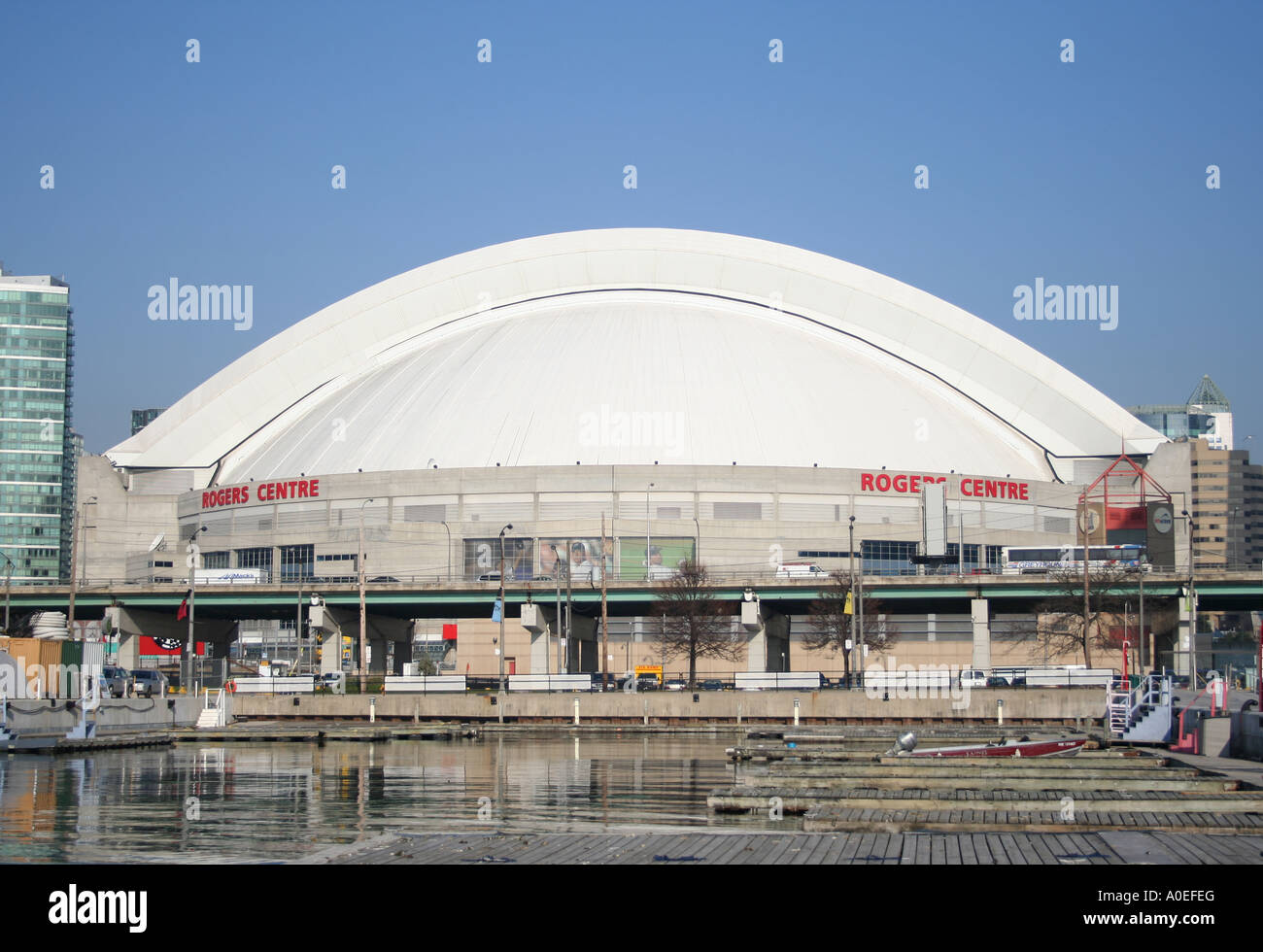 Rogers Centre formerly known as Skydome Toronto Canada  November 2006 - Stock Image