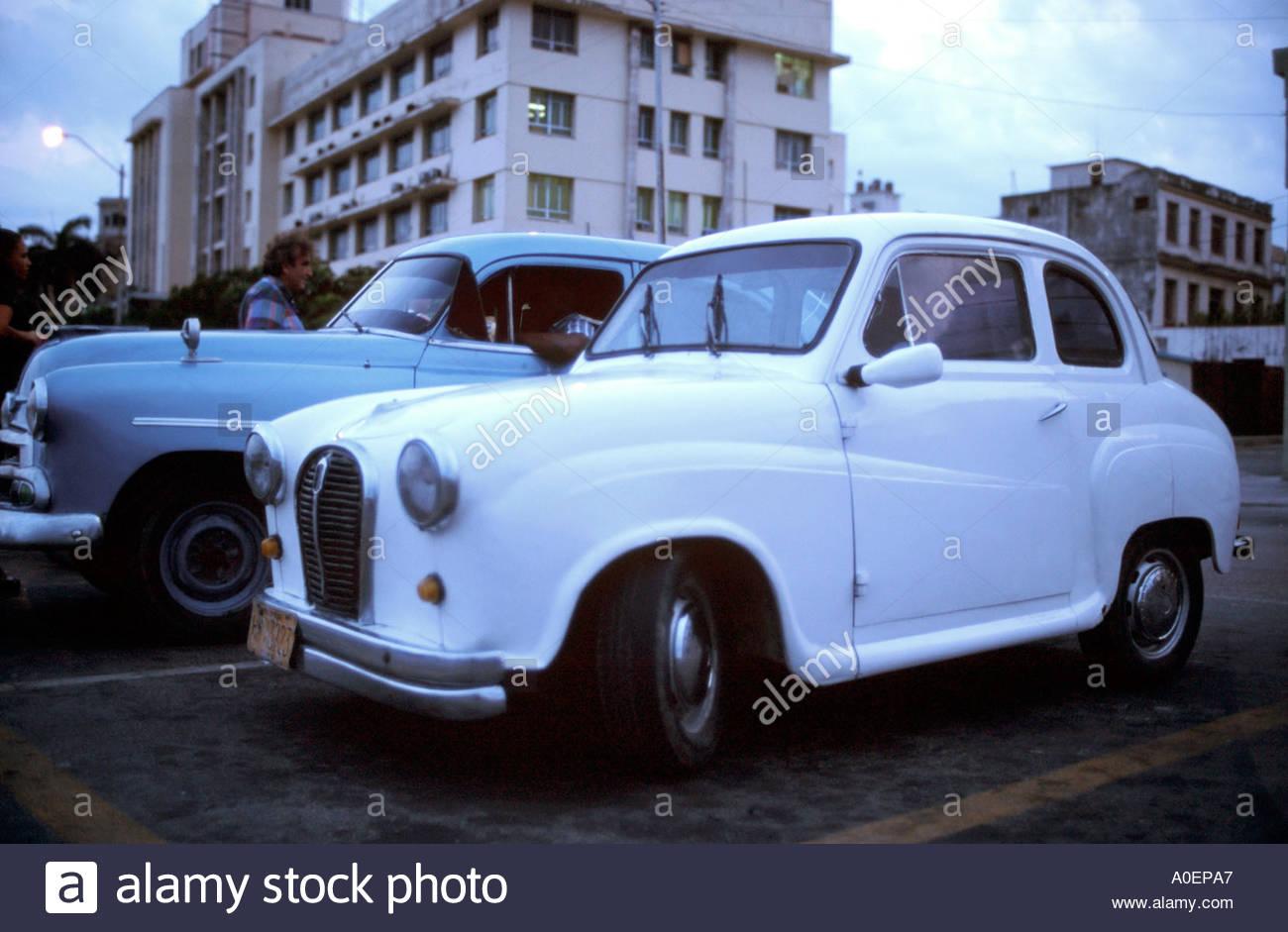 Austin classic cars, Havana, Cuba Stock Photo: 3255974 - Alamy